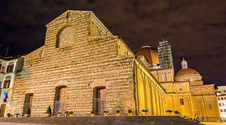A Romanesque church in Florence