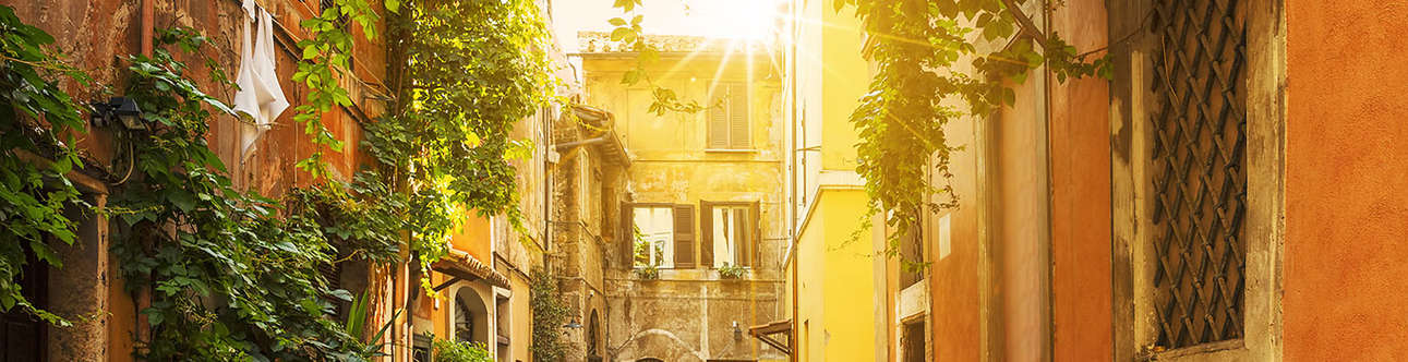 The most enchanting neighborhood in the whole of Rome