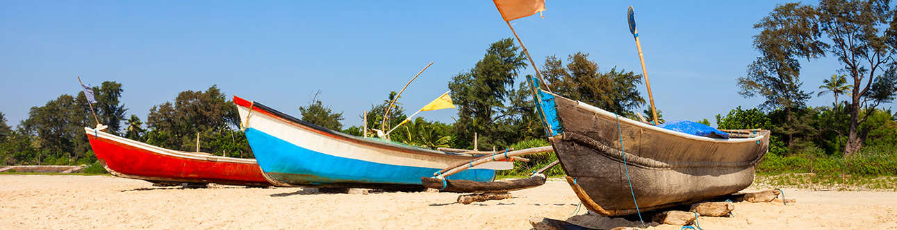 One of the most serene and quiet beaches of Goa