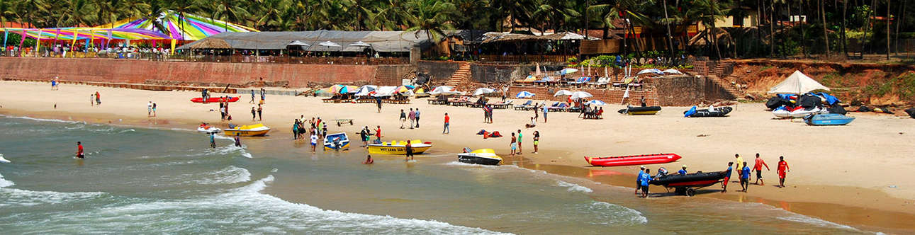 Sinquerim Beach flaunts a tranquil and spectacular stretch of sand