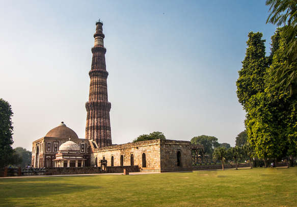 Historical monument in New Delhi