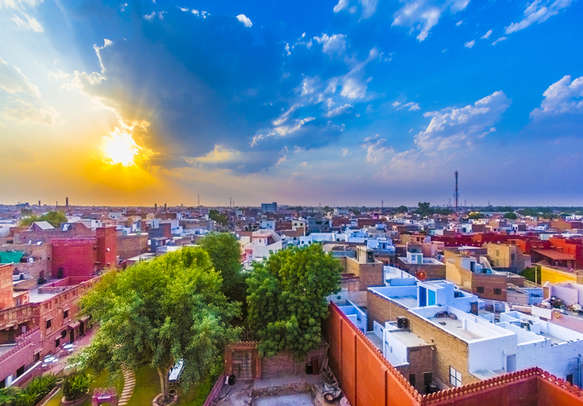 Take a beautiful city view