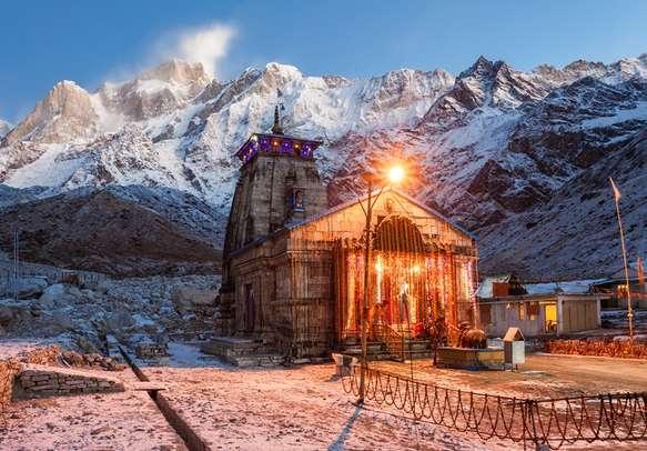 The mesmeric Kedarnath Temple