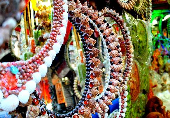 Sacred items for puja