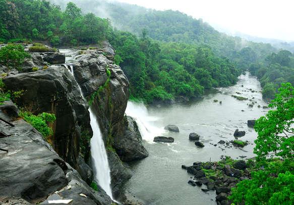 Vazhachal Waterfalls beckon you to Athirapally