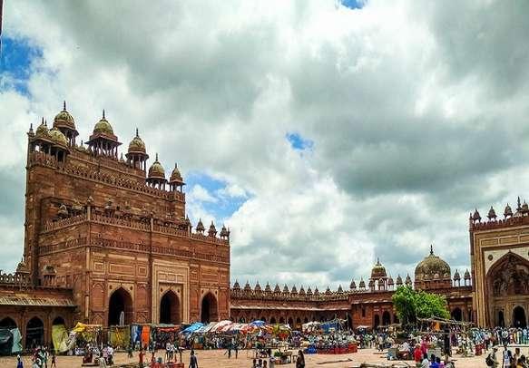 The historic Fatehpur Sikri in Agra