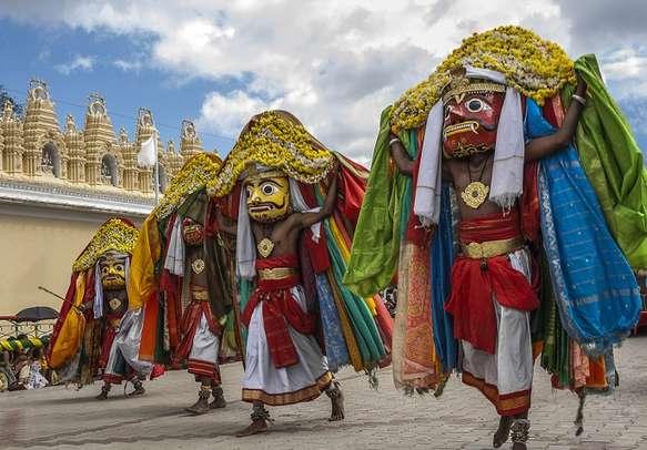 Dasara festival celebrations