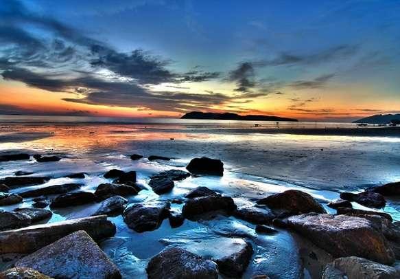 Breathtaking view of sea in Langkawi
