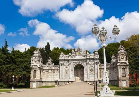 The grandeur of Dolmabahce Palace