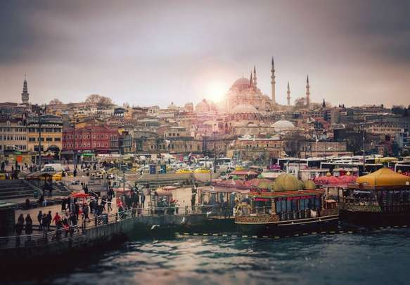 Delight in the scenery of Istanbul