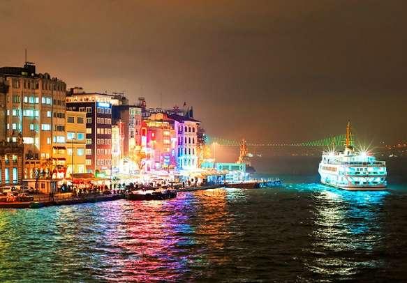 Visit Bosphorous By Night Cruise