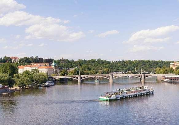 Indulge in Vltava river cruise in Prague