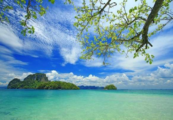 Island is home to many high-end seaside resorts