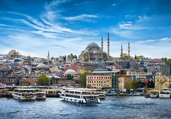 The beauty of Istanbul city
