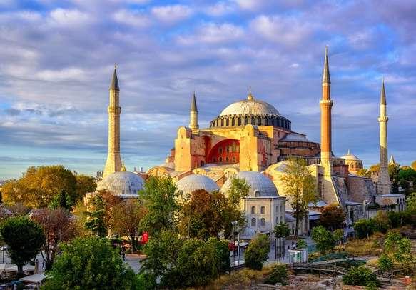 The beauty of Hagia Sophia