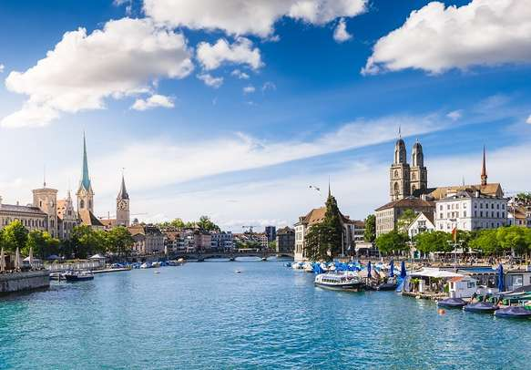 Witness the beauty of Zurich