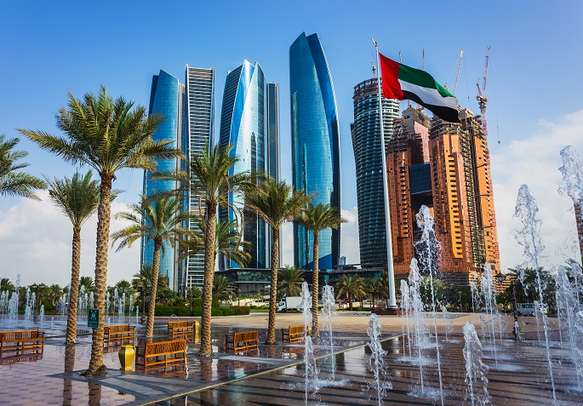 Scenic View of Abu Dhabi