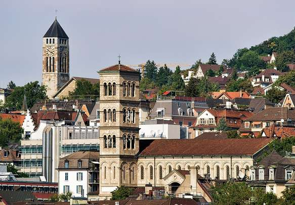 The charming city of Zurich