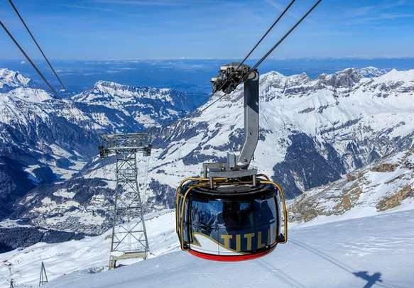 Gondola ride to Mount Titlis