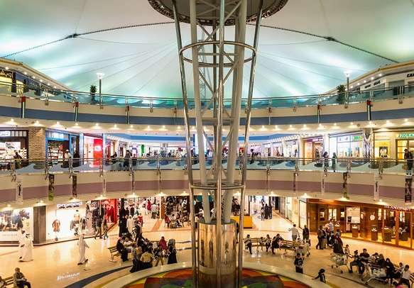 Shopping Mall in Abu Dhabi