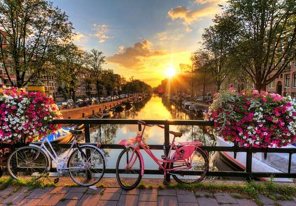 Witness the beauty of Amsterdam