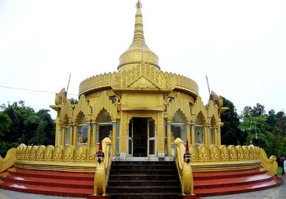 Buddhist Temple in Arunachal