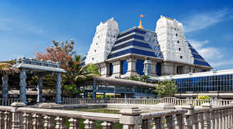 See the beauty of Iskcon Temple