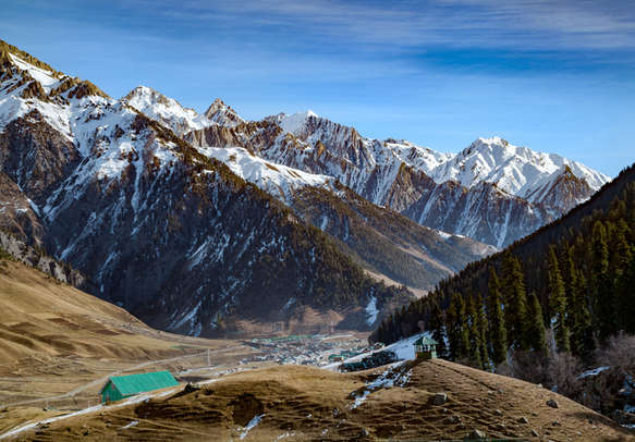 Wonderful view of Sonmarg