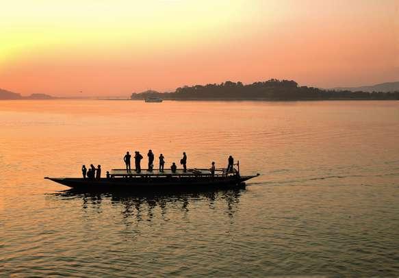 Beautiful view of Assam