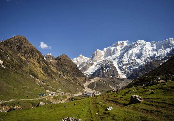 Breathtaking Kedarnath mountains