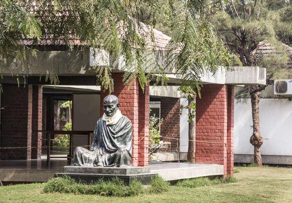 Statue of Mahatma Gandhi in Gujarat