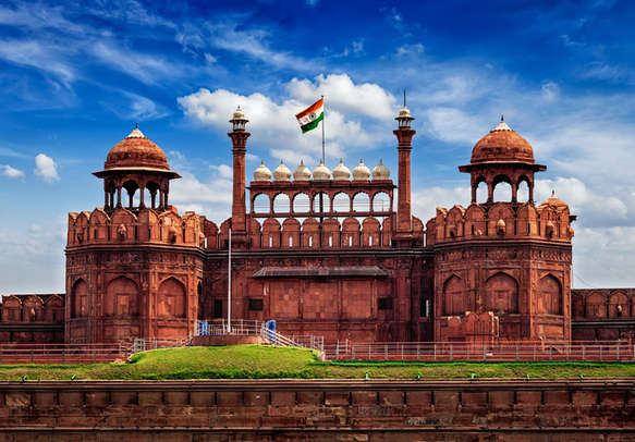 The majestic Red Fort