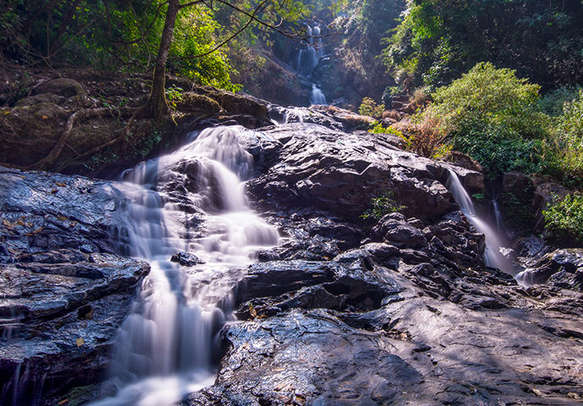 The Irupu falls is a great place to relax