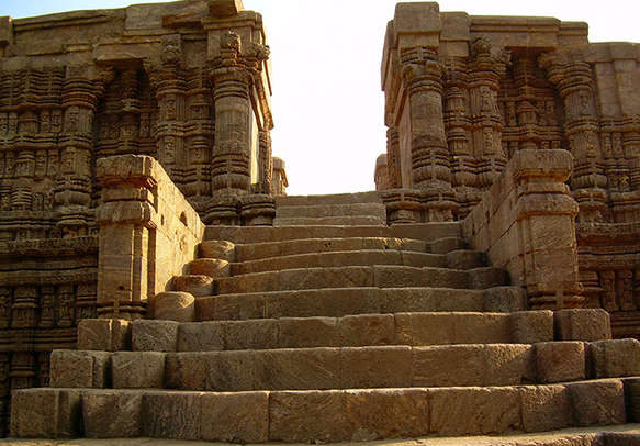 Admire the ancient architecture at the temples