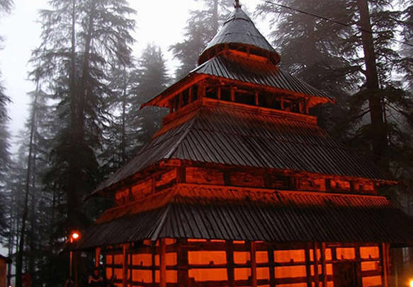 Worship the mystic Hadimba Devi at the temple dedicated to her