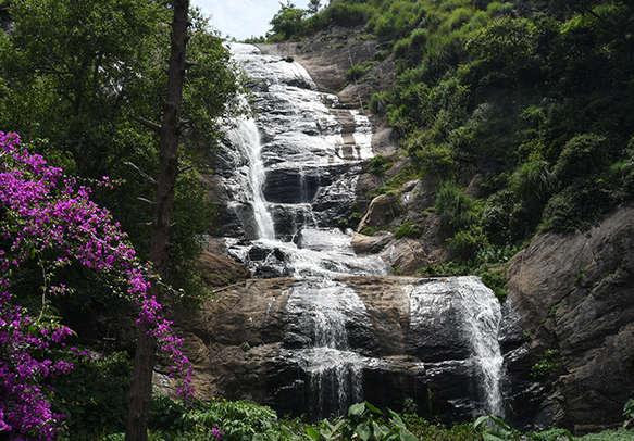 Capture the heavenly beauty of the Bear Shola Falls in Kodaikanal
