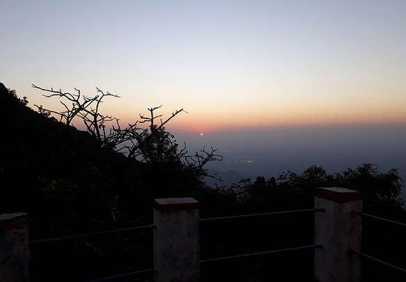 Enjoy sunrise