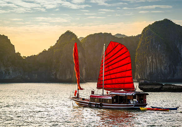 Don't miss out on a Halong Bay trip