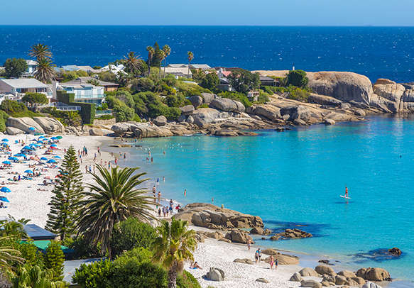 The lovely Camps Bay