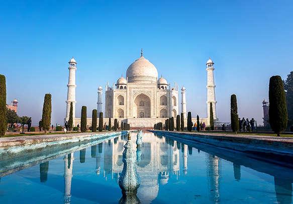 Visit Taj Mahal in Agra