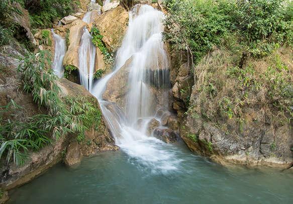 Waterfall in Rishikesh
