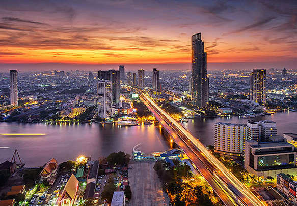 Experience the glamour of Bangkok