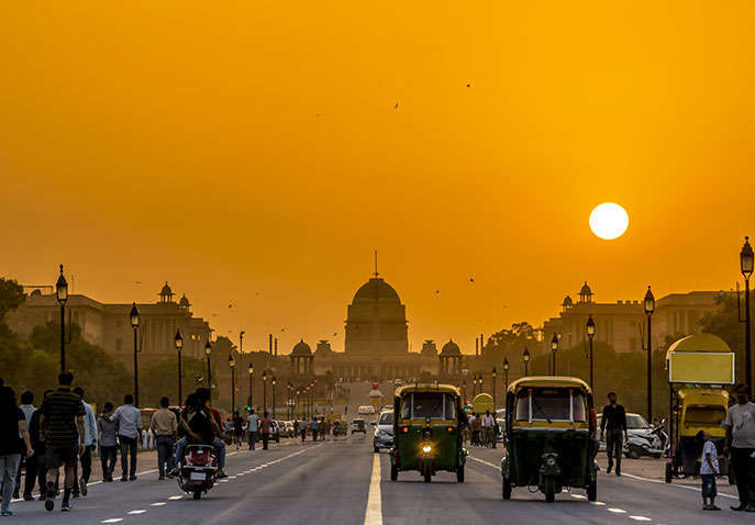 Golden Triangle Tour Package With Amritsar