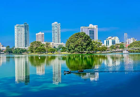 Admire the spectacular views of the Sri Lanka Skyline on your Sri Lanka holiday