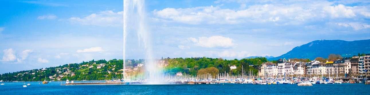 Water Jet In Geneva