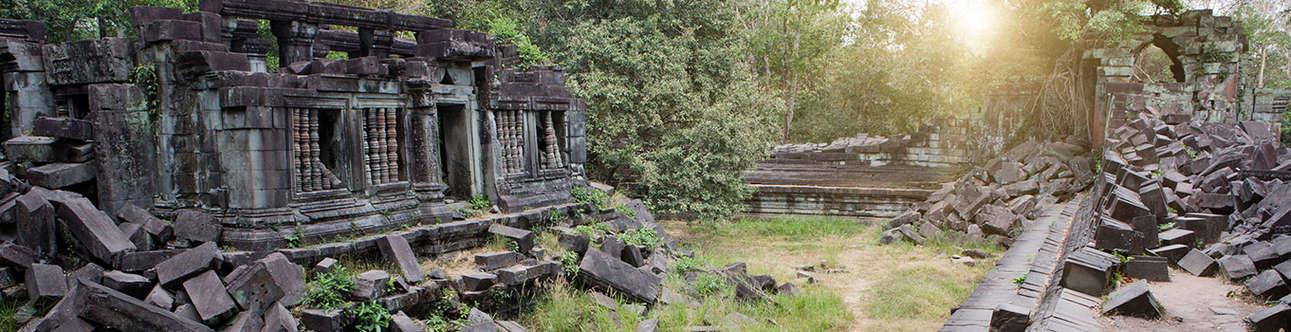 Beng Mealea In Siem Reap