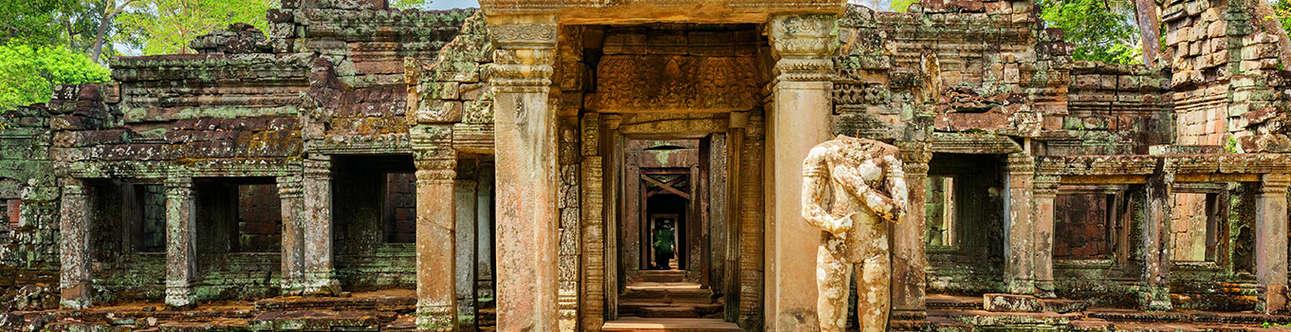 Preah Khan Temple In Siem Reap