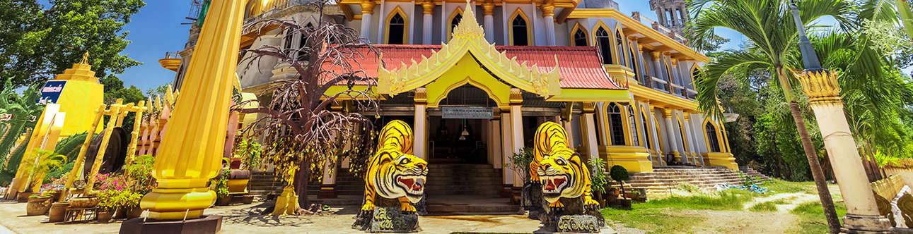 Tiger Cave Temple In Krabi