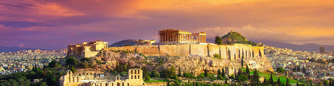 Acropolis of Athens In Athens