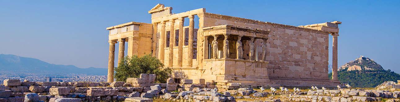 Erechtheion Temple In Athens